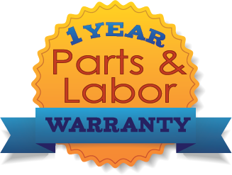 1 Year - Parts and Labor Warranty